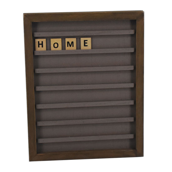 Soild Wooden Letter Board with 90 PCS Letters pictures & photos