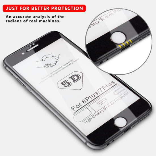 China 5D Mini Tempered Glass for A7 2017 - China Tempered