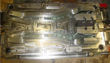 Skuff Plate Bottom Parts Plastic Injection Mold