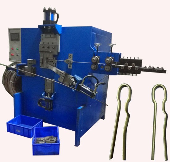 Automatic Stainless Steel R Shape Wire Forming Machine Buckle Making Machine