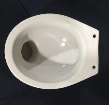 Surprising China 845 White Washdown Floor Standing Toilet Bowl In P Creativecarmelina Interior Chair Design Creativecarmelinacom