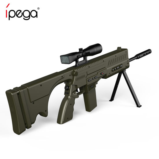 Ipega Smart Bluetooth Gaming Gun Pg-9066 / Game Rifle for Smart Tvs /Tablet PCS /Set Top Boxes /PCS and Vr Games Helmet Devices pictures & photos