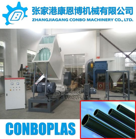 Heavy Duty Plastic LDPE HDPE Gas Energy Supply PE Pipe Tube Grinder pictures & photos