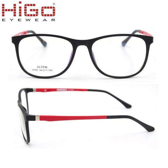 Memory Ultem Flexible Men Women Optical Eyeglass Frame Eyewear Glasses