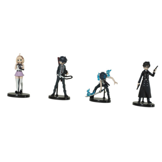 Plastic Anime Cartoon Toy Figure