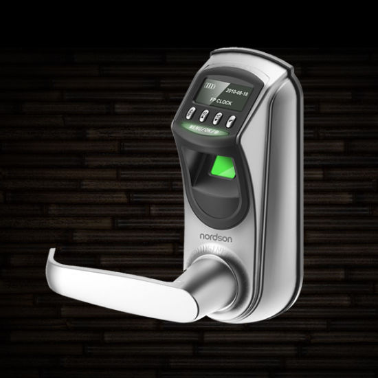 Europe American Standard Single Latch Fingerprint Lock with USB pictures & photos