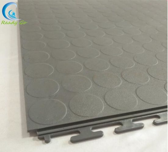 Coin 505 Invisible Locks Pvc Floor Tile
