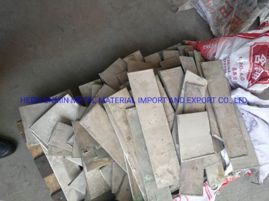High Purity, Factory Price, Nickel Plate 99.97%/ Pure Nickel Sheet Metal Scrap 99.97% From China