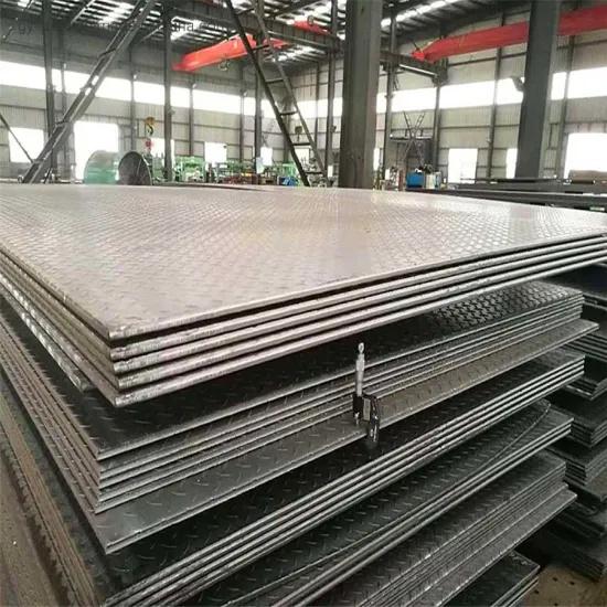 Ms Plate/Diamond Pattern Steel Sheet