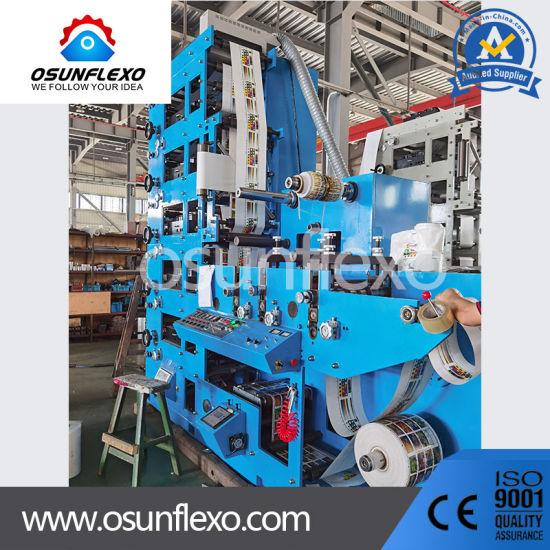 Sticker Printing Press Label Printing Pres Label Printer