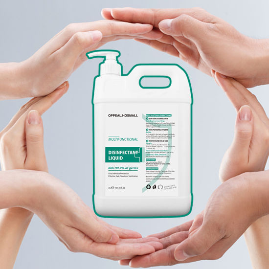 Hot Selling Disinfectant Spray Fogger Liquid Use -3L Alcohol Free