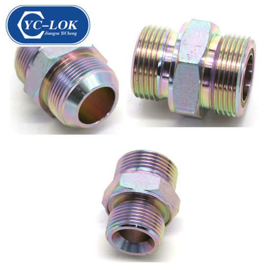 Metric Male O-Ring NPT Male Threaded Hydraulic Tube Fittings