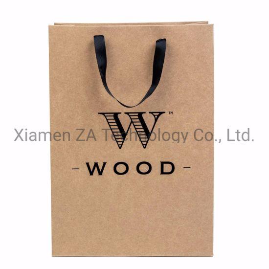 High Quality Custom Recycled Strong Shopping Kraft Paper Bag