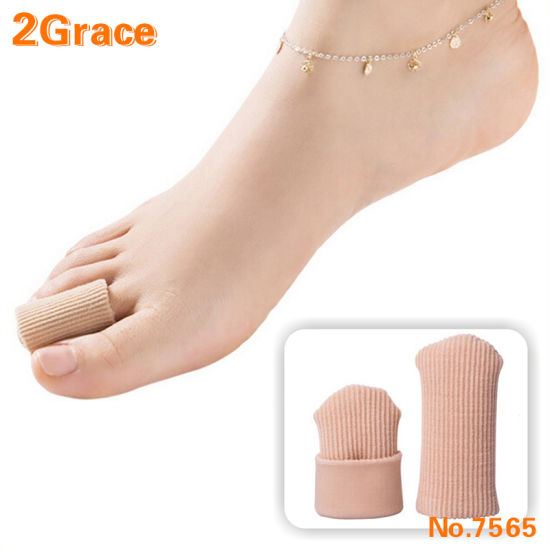 Foot Care Comfortable Bunion Gel Fabric Toe Cover