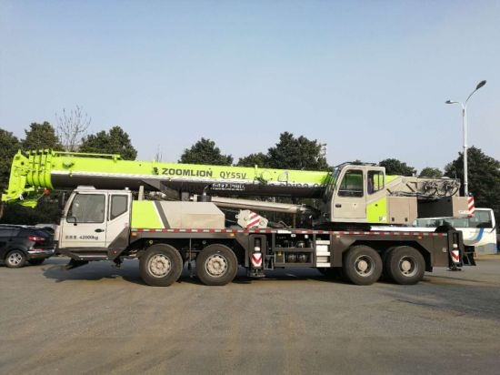 Zoomlion 55tons Hydraulic Mobile Crane Truck Qy55V pictures & photos