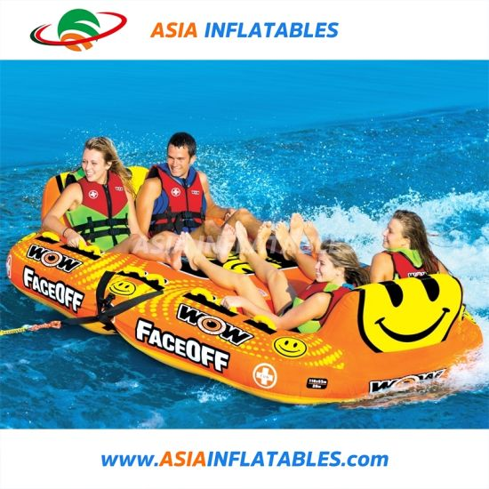 2019 Hot Sale Inflatable Water Ski Tube Boat Inflatable Water Games