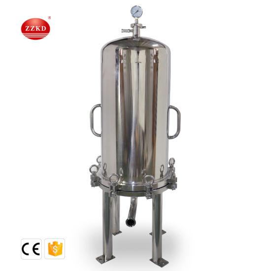 Stainless Steel Wine Membrane Filter Beer Lenticular Filter Housing Membrane Filter