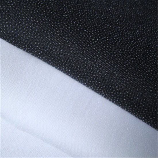Garment Woven Fusible Tricot Interlining Fabric for Lady's Wear
