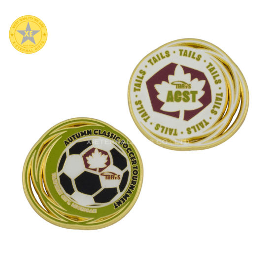 Professional Custom Die Casting Souvenir Challenge Coins Zinc Alloy Colorful Promotional Gift Coins with Logo pictures & photos