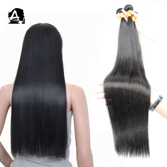 Angelbella Wholesale Brazilian Remy Hair Unprocessed Silky Straight Human Hair Extensions