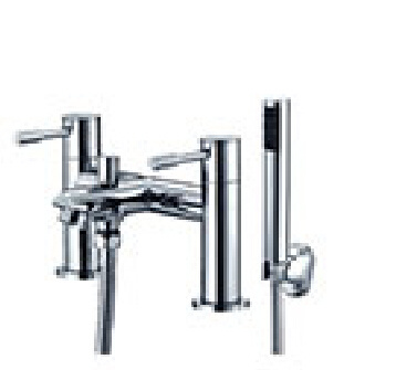Ce & Wras Certified Brass Chrome Bath Shower Mixer Tap with Dual Handle
