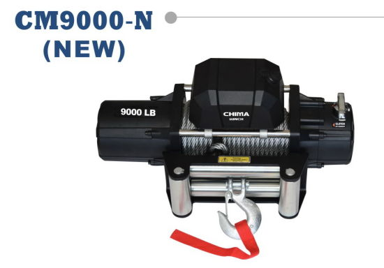 New Style 4WD Electric Winch, 9000lb Pull 12DC