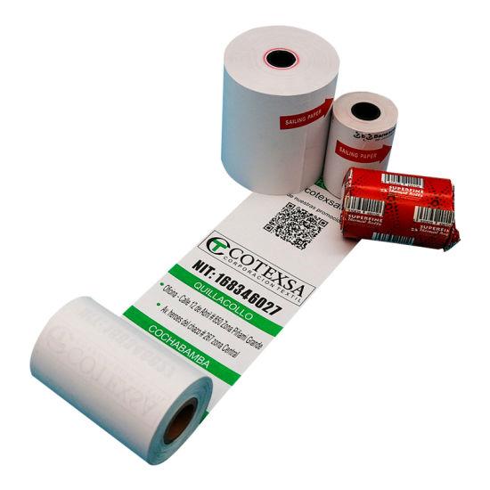 China Thermal Paper Manufacturer 57mm 80mm Cash Register