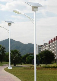 Transport Fast High Stability Smart Solar Street Light 120W