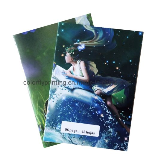 Newest Custom Printing Cute Exercise Book Notebook