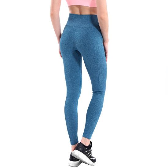 2019 New Design Fitness Yoga Wear European American Style, Sexy Mesh Yoga Pants Women