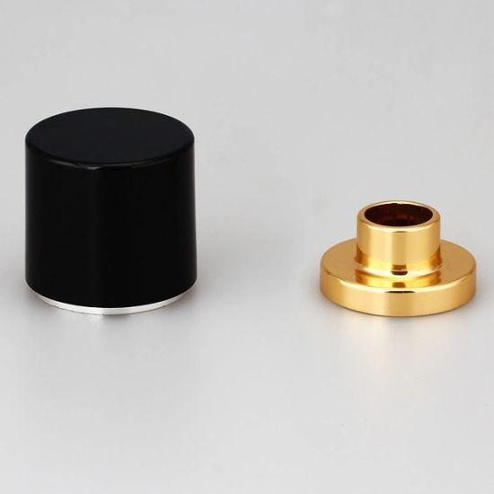 High Quality Aluminum Magnetic Perfume Cap for Bottle