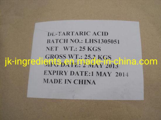 D (-) -Tartaric Acid E334 D-Tartaric Acid