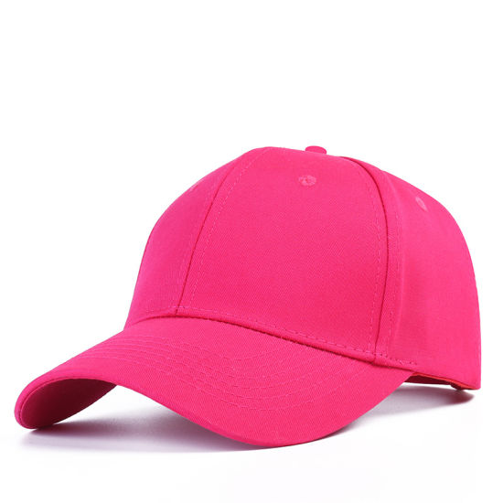 Wholesale Cotton Baseball Cap Man Pure Color Cap Customized Han Version of Hat Embroidery Custom Logo Light Plate Sun Hat