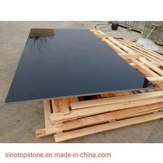 Hebei Black Granite Slab pictures & photos
