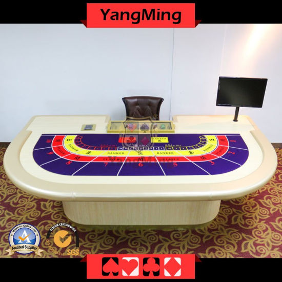 Macao VIP Dedicated Casino Table Entertainment Poker Game Table Luxury for Gambling Club Games Ym-Ba011