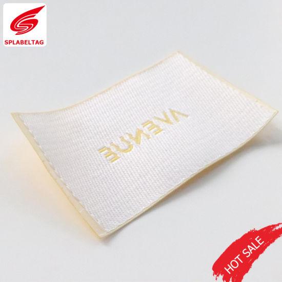 Factory Customized Soften Woven Labels for Carpet Socks Cap