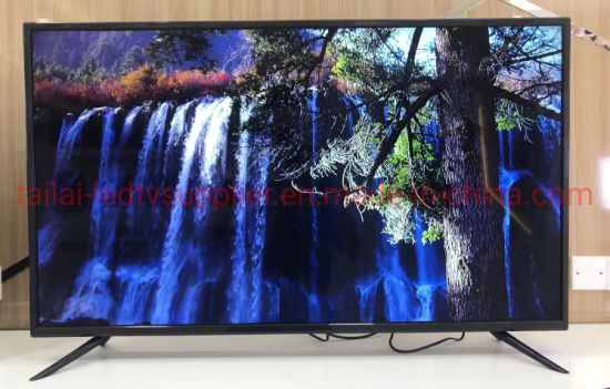 Wholesale 32inch HD Flat Screen Home LED TV with 1 Year Warranty