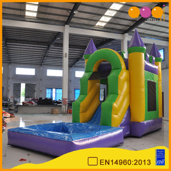 2018 Hot Selling High Quality Inflatable Castle Bouncer with Mini Pool (AQ789-1) pictures & photos