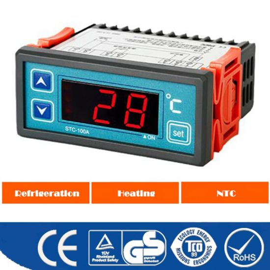 LCD Display Digital Temperature Controller Stc-100A