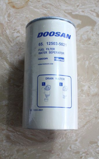 China Fuel Filter Water Separator 65.12503-5021 Doosan Engine Spare Parts -  China Doosan Fuel Filter Water Separator, Excavator Fuel Filter Water  SeparatorHangzhou Hengjing Trading Co., Ltd.