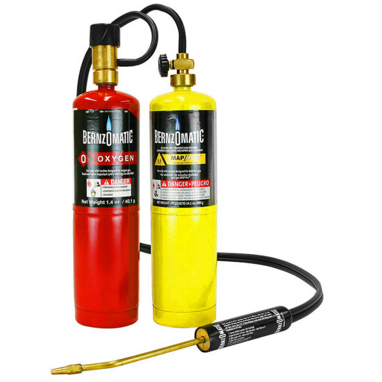Factory Sale High Quality 450g 16oz Mapp Gas with Mapp PRO Welding Gun