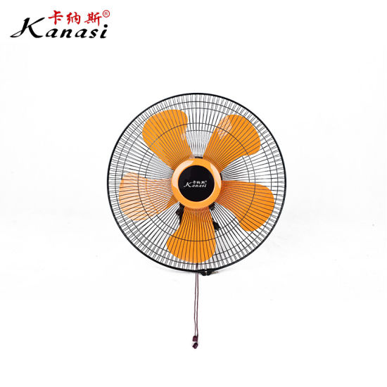 Electric Oscillating Rotating Wall Mount Hanging Fan 18 Inch with Narrow Fan Guard