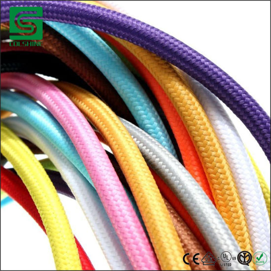 Colshine Textile & Fabric Cloth Covered Wire