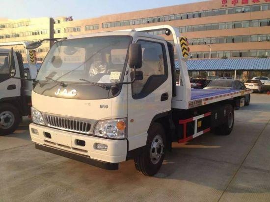 Factory Supply 4X2 JAC Tow Wrecker Truck