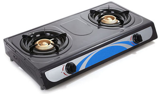 2 Burner Gas Stove Gas Cooker for Kitchen Equipment (DS-GSN201)