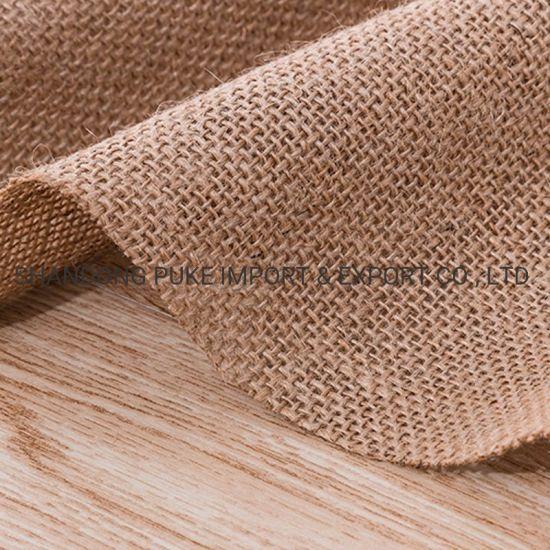 Sofa Hessian Fabric Woven 100% Jute Fabric for Bags