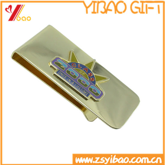 Promotional Gifts Customized Metal Silver Money Clips pictures & photos