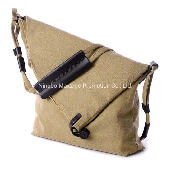 Custom Vintage Women Canvas Travel Single Shoulder Bag