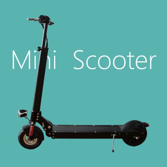 Black Frame 36V 250W Electric Scooter for Children pictures & photos