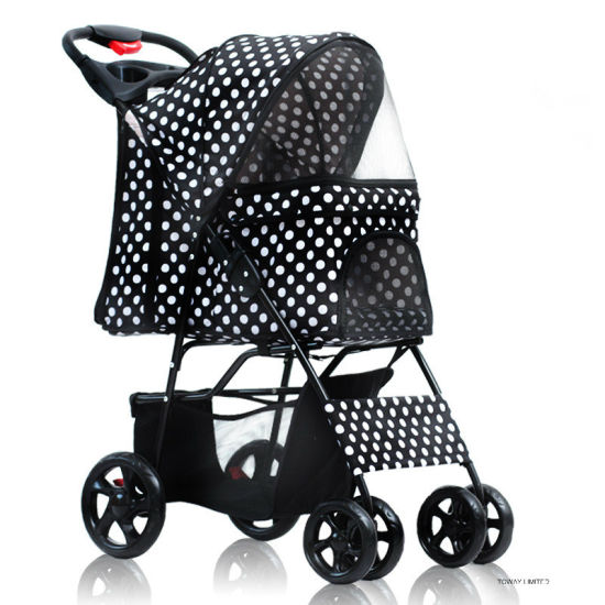 Dots 4 Wheels Pet Strollers Home Cart Dog Trolleys pictures & photos